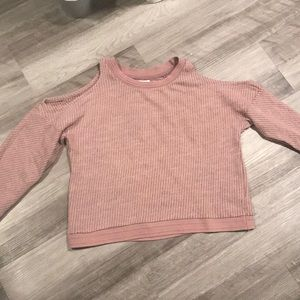 Pull & Bear Cut-out-Shoulder Sweater